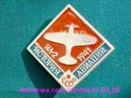 Soviet Airplane IL-4 / Soviet Badge _01-03_1089_09 - Avions