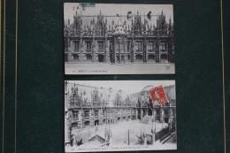 CPA 76 *ROUEN * 1 LOT 16 CARTES  DIFFERENTES   * LE PALAIS DE JUSTICE * 0€30 PIECE - Rouen