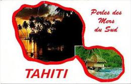 Divers     3       Souvenir De Tahiti.Bonne Année - Tahiti