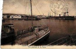 Ferryville       22       Arsenal De Sidi Abdallah.Vue Générale De La Darse ( Cachet ) - Tunisie