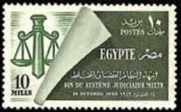 EGYPT - STAMPS - MNH - Scales Of Justice - 1949, Oct. 14 - Egypt