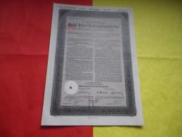 ALLEMAGNE / DEUTSCHLAND (berlin 1930) - Shareholdings