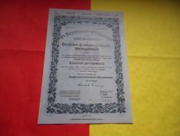 ALLEMAGNE / DEUTSCHLAND (berlin 1940) - Shareholdings