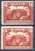 Monaco -1922 -  Vue De La Principauté   - N° 61 - 2 Teintes   - Neufs*  -  MLH - - Monaco