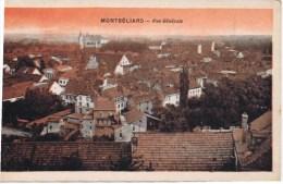 Cpa  MONTBELLIARD VUE GENERALE - Montbéliard