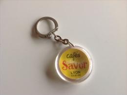 Porte Clefs Cafés SAVOR LYON - 60´s 70´s - Porte-clefs