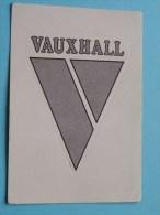 VAUXHALL Super AUTO ( 181 ) Ed. Panini Modena ( Zie Foto Voor Details ) ! - Panini