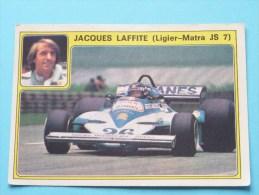 JACQUES LAFFITE ( Ligier-Matra JS 7 ) Super AUTO ( 16 ) Ed. Panini Modena ( Zie Foto Voor Details ) ! - Panini
