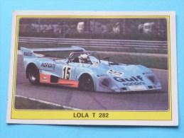 LOLA T 282 () Super AUTO ( 46 ) Ed. Panini Modena ( Zie Foto Voor Details ) ! - Panini