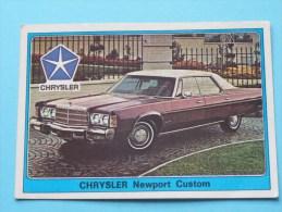 CHRYSLER Newport Custom () Super AUTO ( 79 ) Ed. Panini Modena ( Zie Foto Voor Details ) ! - Panini