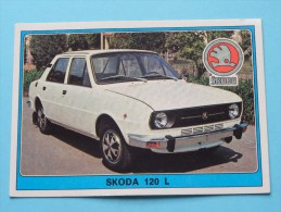 SKODA 120 L () Super AUTO ( 176 ) Ed. Panini Modena ( Zie Foto Voor Details ) ! - Panini