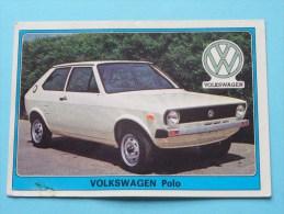 VOLKSWAGEN Polo () Super AUTO ( 185 ) Ed. Panini Modena ( Zie Foto Voor Details ) ! - Panini
