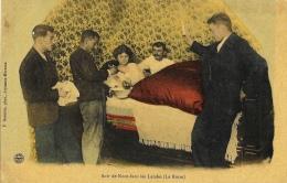 Soir De Noce Dans Les Landes (la Roste) - Edition F. Bernède - Carte Non Circulée - Marriages