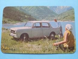 FIAT 1100 R ( Editie - Uitgave België / Zie Foto Voor Details ) ! - Autres Collections