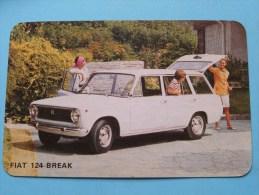 FIAT 124 BREAK ( Editie - Uitgave België / Zie Foto Voor Details ) ! - Autres Collections
