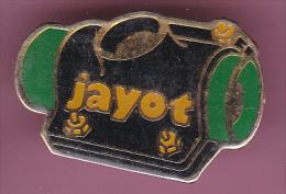 47863- Pin's.Jayot Lcab Bogny Sur Meuse Boulonnerie, Visserie, Clouterie - Città