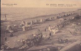 Ax - Cpa Blonville Sur Mer - Le Grand Hôtel - Sa Grande Terrasse Sur La Mer - Other Municipalities
