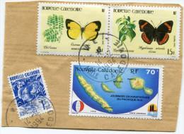 NOUVELLE-CALEDONIE FRAGMENT AVEC OBLITERATION WE 14-12-1994 Nelle CALEDONIE - Usati
