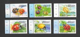 Alderney 2014 - Ladybirds Set Of 6 Stamps - Alderney