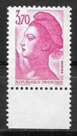 Année 1987 _ N° 2486a ** Bande De Phosphore à Droite + 2487a Numéro Rouge Au Verso. - France
