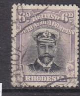 Rhodesia: 1913, Admiral, 6d Violet & Mauve, Die I Perf 15, Used - Southern Rhodesia (...-1964)