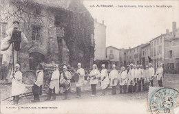 Ax - Cpa Les Cornards, Fête Locale à Sauxillanges - France
