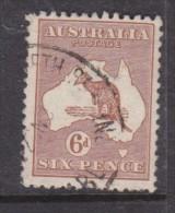 Australia: 1923, 6d Chestnut,  Used - Used Stamps