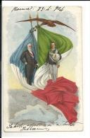 CPA  1904 , Viste Du Président Français En Italie  (162/163) - Oblitérés