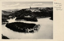 AK Urfttalsperre I. D. Eifel -Ordensburg Vogelsang - Karte Gel. 1937 - Deutschland