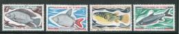 Tchad Y&T N°216 à 219 Oblitérés (poissons) - Ciad (1960-...)