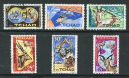 Tchad Y&T N°104 à 109 Oblitérés - Ciad (1960-...)
