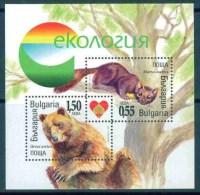 BULGARIA 2006 FAUNA Animals ECOLOGY - Fine S/S MNH - Altri