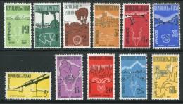 Tchad Divers Timbres De 1961-62 Neufs Avec Charnière * - Ciad (1960-...)