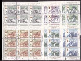 Jugoslawien , Kleinbogen - Satz , 1983 , Mi.Nr. 2007 - 2012 O / Used , Weitere Bilder - Blocchi & Foglietti