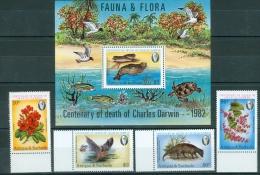 Antigua & Barbuda 1981 Fauna & Flora 100° Darwin MNH** - Lot. A388 - Antigua Et Barbuda (1981-...)