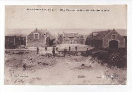 Saint Coulomb  -   Une Ferme Modèle Au Bord De La Mer - Saint-Coulomb