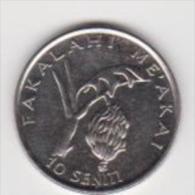 TONGA  10 SENITI   ANNO 2002 UNC - Tonga