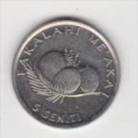 TONGA  5 SENITI   ANNO 1996 UNC - Tonga