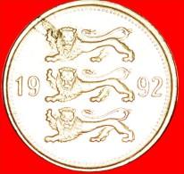 ★LIONS: Estonia (ex. The USSR) ★ 50 CENTS 1992!  LOW START ★ NO RESERVE! - Estonie