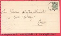 """FL2429 - COMUNI D´ITALIA - TREZZONE (CO) - Piego Viagg. Nel 1929 Con 25c. """"Floreale"""" - 1900-44 Victor Emmanuel III"""