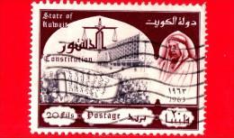 KUWAIT - Usato - 1963 - Promulgazione Della Costituzione - Sceicco Abdullah - 20 - Kuwait