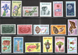 Maroc  1965 - Année Complète ** - 17v  , Yvert# 480/96 - NEUFS , Sans Charnières ** - Morocco (1956-...)