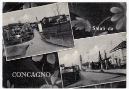 SALUTI DA CONCAGNO - SOLBIATE COMASCO - COMO - 1957 - Como