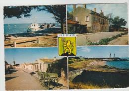CPSM ILE D'AIX (Charente Maritime) - 4 Vues - Altri Comuni