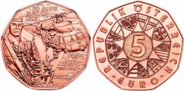"AUSTRIA  5€  2015  ""FUERZAS ARMADAS DE AUSTRIA""   COBRE    SC/UNC      T-DL-11.440 - Austria"