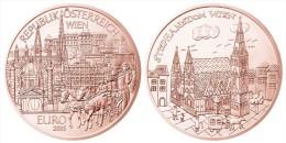 """AUSTRIA  10€  2015  """"WIEN-VIENA""""   COBRE    SC/UNC      T-DL-11.441 - Autriche"""