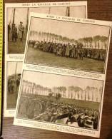 ANCIEN DOCUMENT 1910/1920 GUERRE APRES BATAILLE DE CARENCY NOTRE DAME DE LORETTE - Vieux Papiers