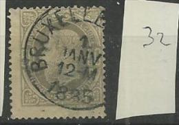 1869 USED Belgium - 1869-1883 Leopoldo II