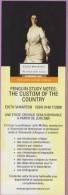 Marque-page °° Penguin - E.Wharton Custom Of The Country  - V.idem  6x19 - Lesezeichen