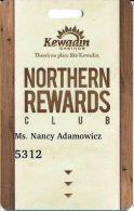 Kewadin Casinos Sault St. Marie, MI - Northern Rewrads Club Slot Card - Casino Cards